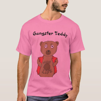 Gangster Teddy Bear T-Shirt