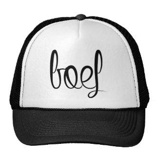 Gangster trucker cap