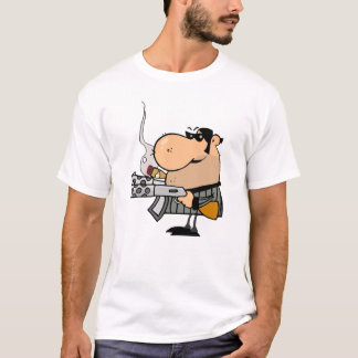 Gangster With Weapon T-Shirt