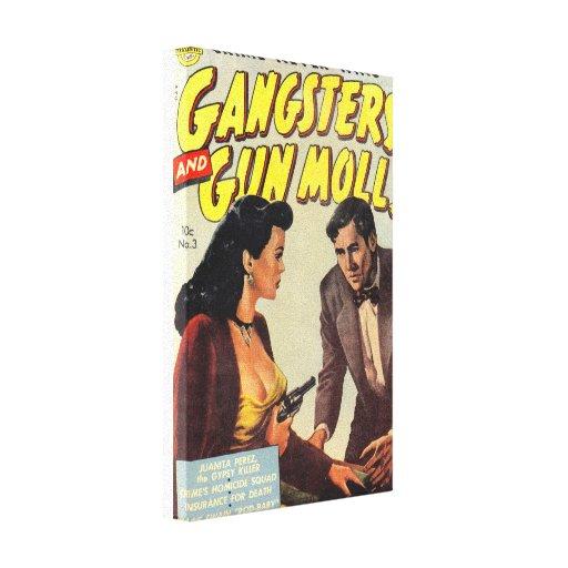 Gangsters and Gun Molls Canvas Prints