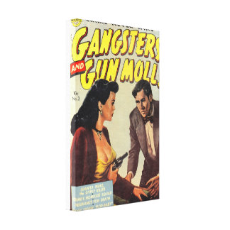Gangsters and Gun Molls Canvas Print