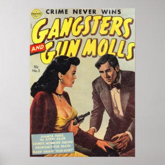 Gangsters and Gun Molls Poster