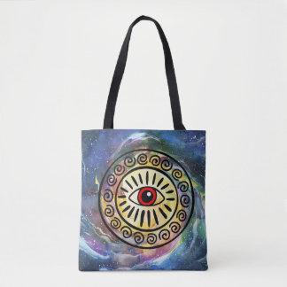Ganja Guru: Watercolor Space Tote Bag