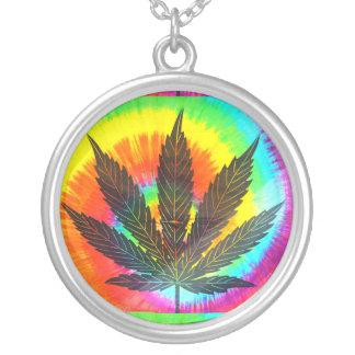 ganja rainbow necklace