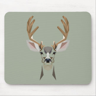 Gaphic deer mouse mat