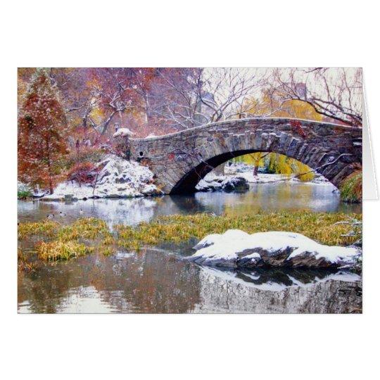 Gapstow Bridge - Central Park, New York City
