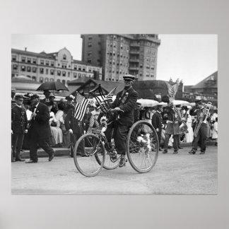 GAR Parade, 1910 Poster