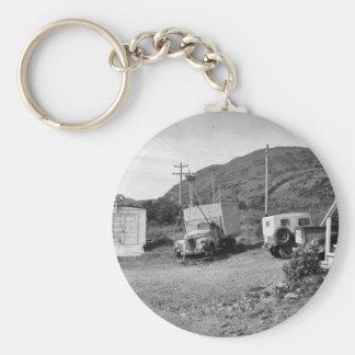 Garage and Yard at Kodiak Refuge Key Chains
