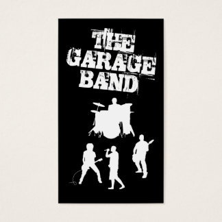 Garage Band Music Business Card