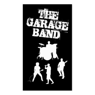 Garage Band Music Pack Of Standard Business Cards