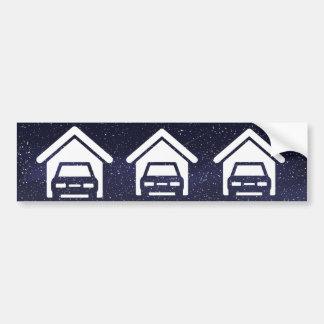 Garage Barns Minimal Bumper Sticker