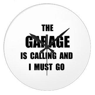 Garage Calling Wall Clocks