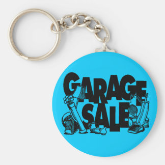 Garage Sale Key Chain
