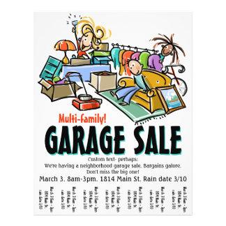Garage Sale. Moving Sale. Yard Sale Custom flyer