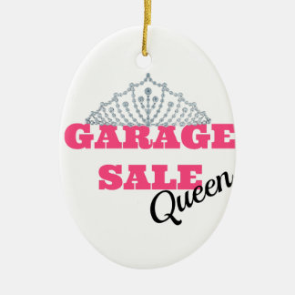 Garage Sale Queen Line Christmas Ornament