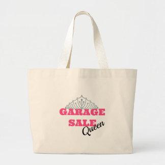 Garage Sale Queen Line Jumbo Tote Bag