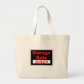 Garage Sale Queen Jumbo Tote Bag