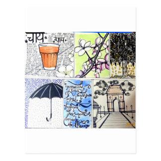 Garam Chai Postcard