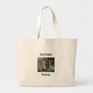 Garbage Panda Jumbo Tote Bag