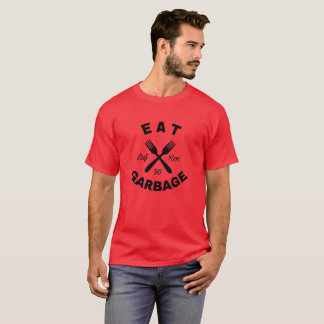 Garbage Plate Tee: Dark Design T-Shirt