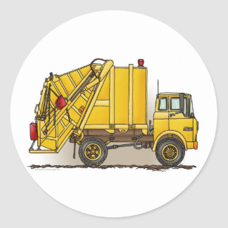 Garbage Truck 2 Construction Sticker