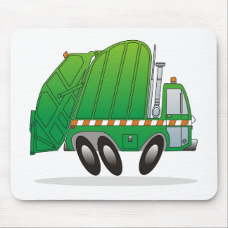 Garbage Truck G Mouse Mat