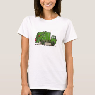 Garbage Truck Green T-Shirt