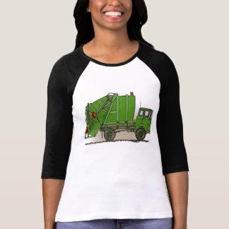 Garbage Truck Green T-Shirt