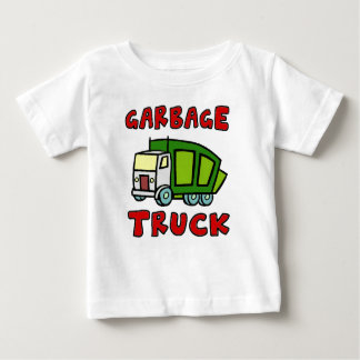 GARBAGE TRUCK SHIRT!!! I love Garbage Trucks!! Baby T-Shirt