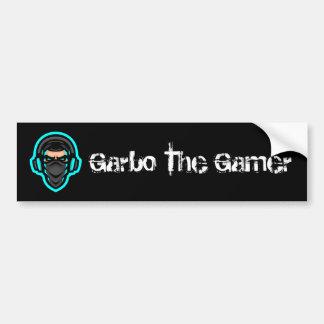 Garbo The Gamer Bumper Sticker