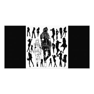 garcya.us_women_silhouettes92 photo greeting card