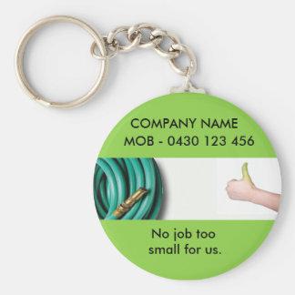 gardeing2 basic round button key ring