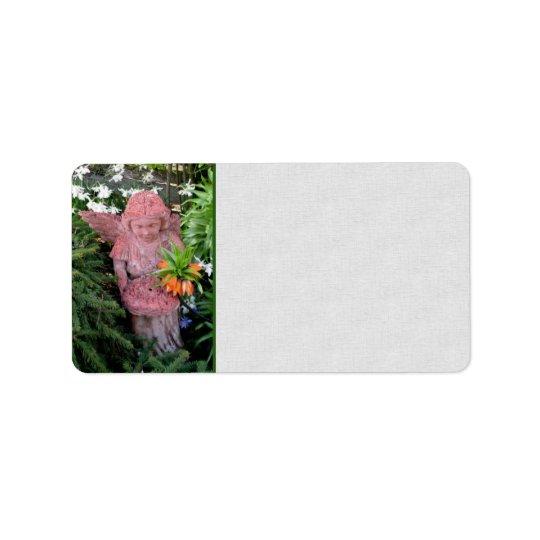 Garden Angel Address Label