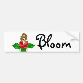 Garden Angel Bloom Bumper Sticker