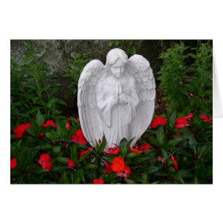 Garden angel card