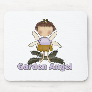 Garden Angel Mouse Pads