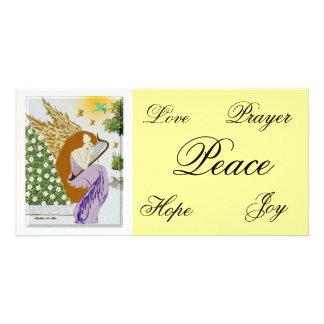 Garden Angel Customized Photo Card