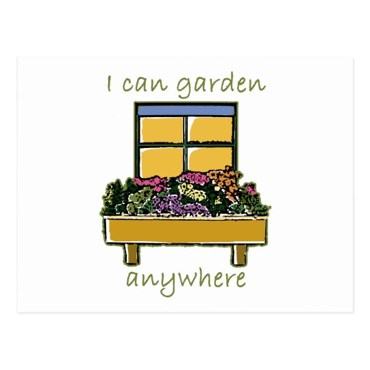 Garden Anywhere Postcard