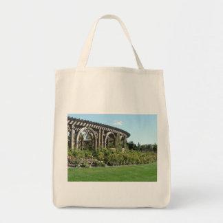 garden arbor tote bag