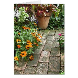 Garden Art Note Card