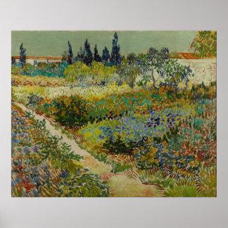 Garden at Arles, 1888 Poster