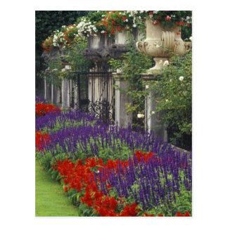 Garden at Mirabell Palace, Salzburg, Austria Postcard