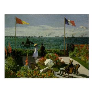 Garden at Saint Adresse by Claude Monet Postcard