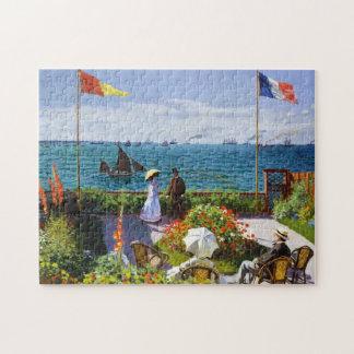 Garden at Sainte-Adresse, 1867 Claude Monet Jigsaw Puzzle