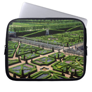 Garden at Villandry Chateau, Indre-et-Loire, Laptop Sleeves