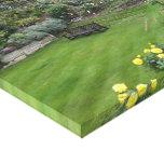 Garden at Windsor Castle Canvas Print