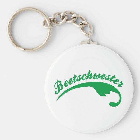 Garden Basic Round Button Key Ring
