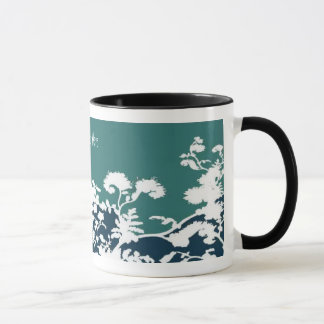 Garden Bloom Mug - Teal, Customize