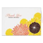 Garden Blossoms Thank You Cards