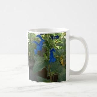 Garden Blue Salvia Sage Coffee Mug